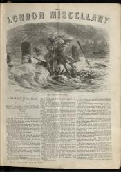 """The Storm on the Thames."" The London Miscellany 4 (3 Mar 1866), 1"