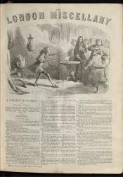 """""""'Treason! Guard! Treason!'"""" The London Miscellany 5 (10 March 1866), 1"""