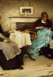 """""""Seamstresses"""" by Frank Holl"""