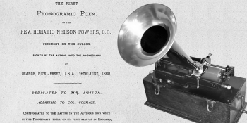 The Phonograph's Salutation