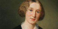 Portrait of George Eliot